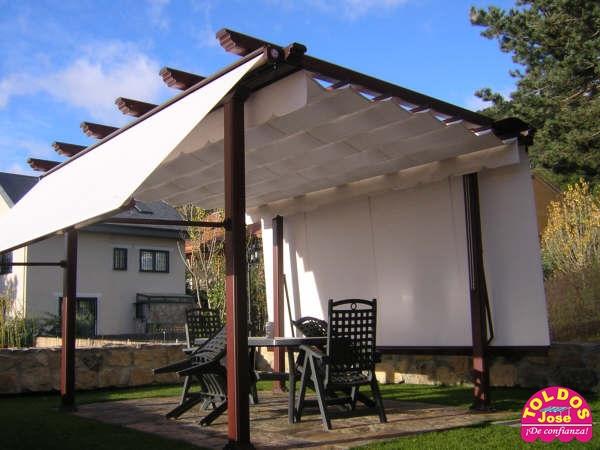 Toldos y p rgolas for Repuestos para toldos de terraza