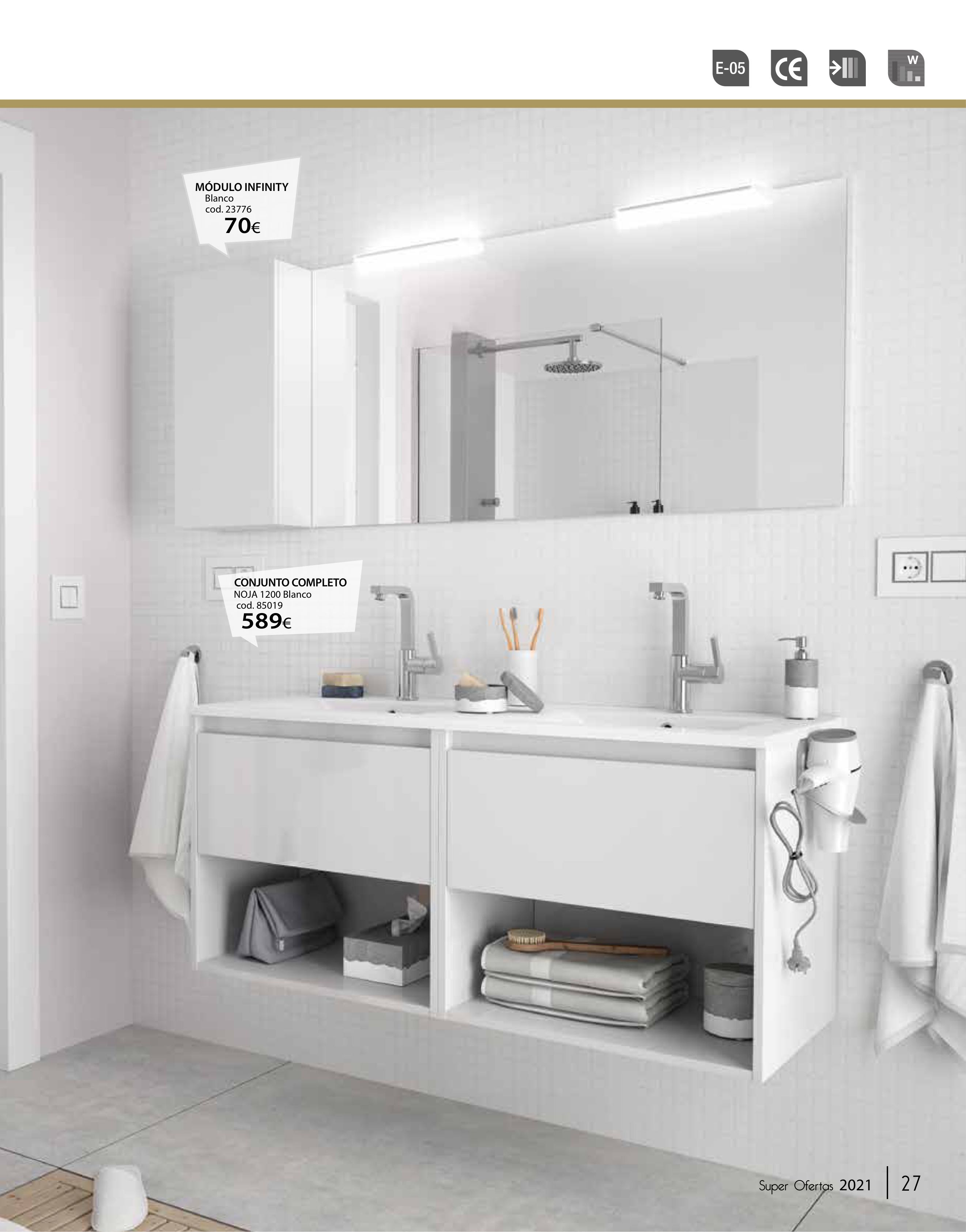 muebles para el cuarto de baño