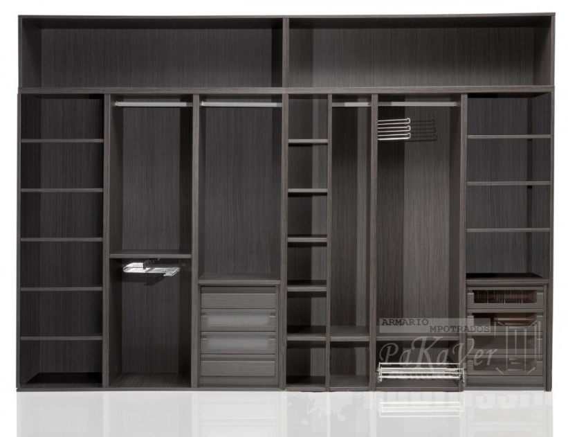 Interiores de armarios empotrados - Cajoneras interior armario ...