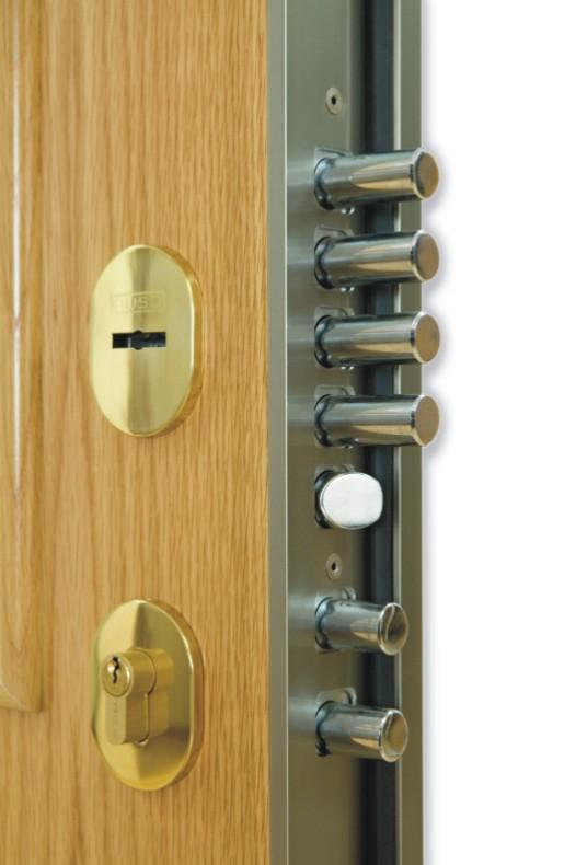 Puertas acorazadas kiuso - Tipos de cerraduras ...