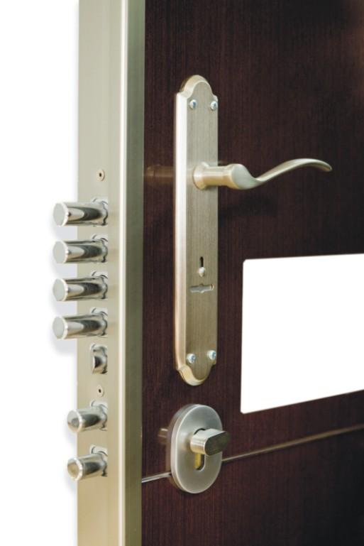cerradura de seguridad puerta exterior