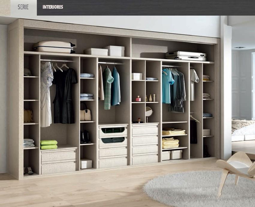 Interiores de armario y vestidores