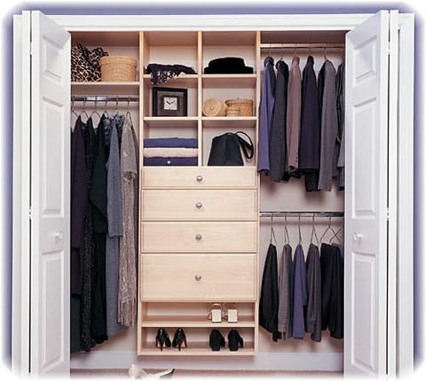 interiores de armarios empotrados